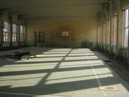 Ремонт на физкултурния салон на училището 2