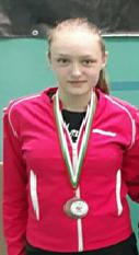 """Ученичка от СУ """"Св.Климент Охридски"""" в Дупница с бронзов медал в бадминтона 1"""
