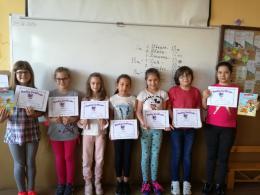 Маратон на четенето по Английски език-3а клас, 2018 г. - ОУ Св. Климент Охридски - Дупница